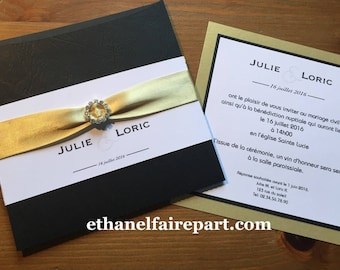 Royal Wedding - set of 10 invitations