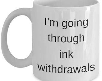 Tattoo coffee mug | Etsy