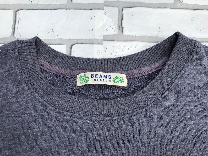 Beams Heart sweatshirt grey