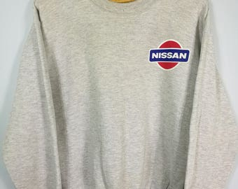 Vintage Nissan pulsar sweatshirt grey sz M