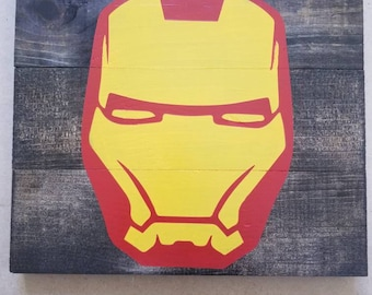 Iron man wall plaques