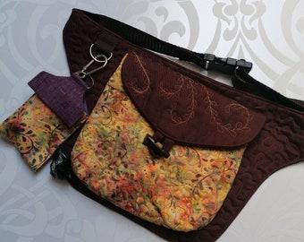 Customised Hipbag / Hand Sanitiser case / Doggy bag Dispenser/ Face mask set