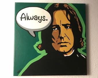 "Original ""Snape"" Painting on Canvas"