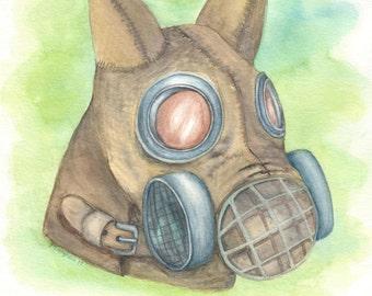 Dog Gas Mask
