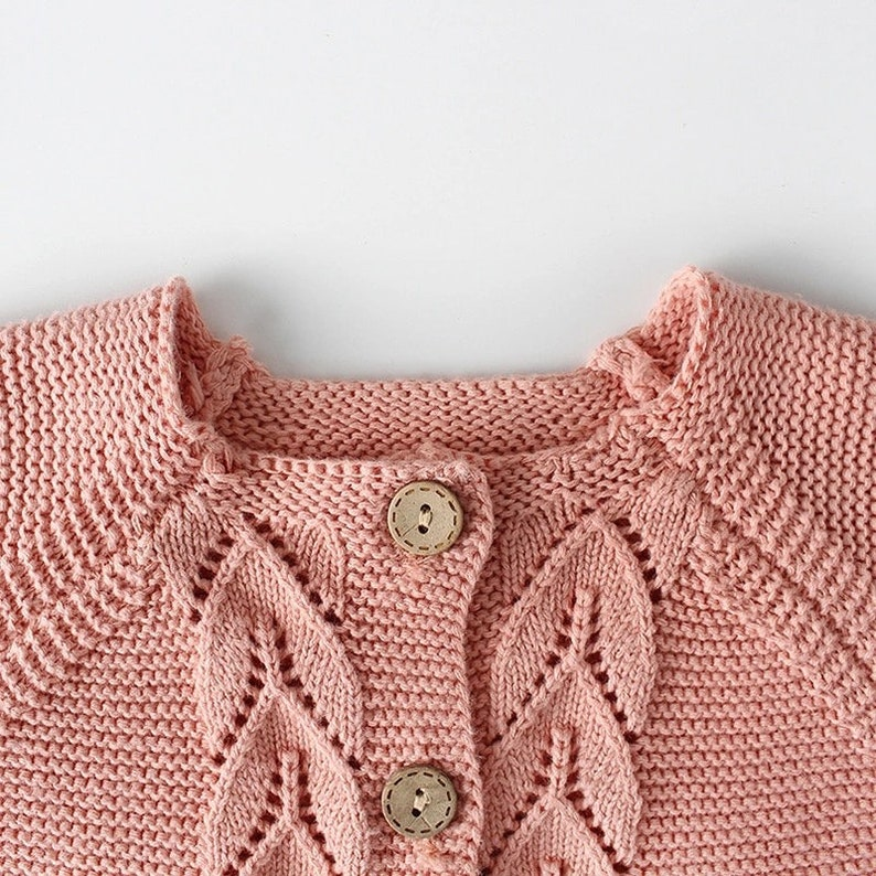 Baby knitted cardigan and knitted baby boys girls plain romper!