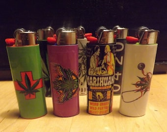Cannabis inspired lighters