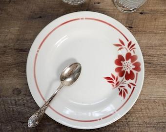 Dessert plate antique vintage