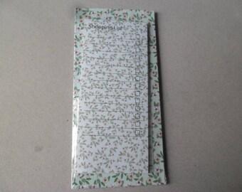 "x 1 notebook holder ""think beast"" magnetic flower 19 x 9 cm"