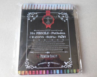 x 1 box of 18 mixed high quality colored pencils