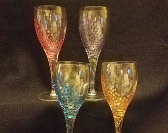 Dotted Aperitif Glasses