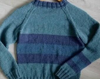 Raglan sweater 50% modal T:XS / S-34