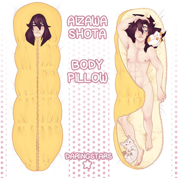 Aizawa (Eraser Head) Body Pillow Case Made To Order