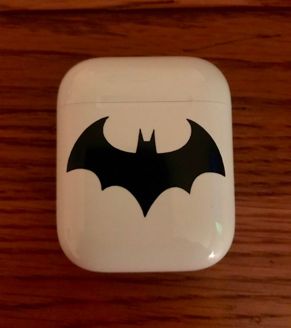 separation shoes 059e1 e2ade Batman Decal, Apple AirPods Case, Apple AirPods Case Decal, Batman Logo,  Decal For Anything, Outdoor Grade Decal, DC Comics