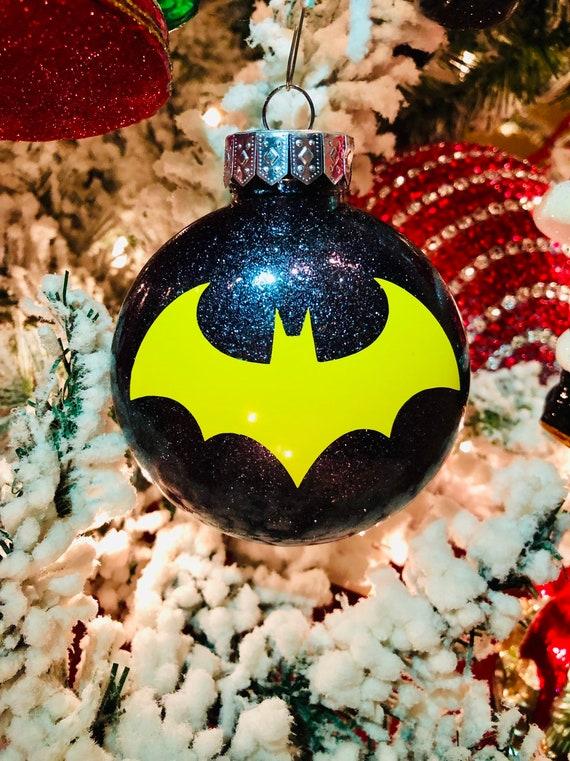 Batman Christmas.Batman Ornament Batman Christmas Ornament Dc Batman Ornament Batman And Robin