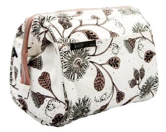 49187f8fb179 Makeup Bag,Cosmetic Bag,Womens Makeup Pouch,Wash Bags,Travel Bags,Floral,Toiletry  Bag, Australian Native Flower,Australian Wildflowers Bag