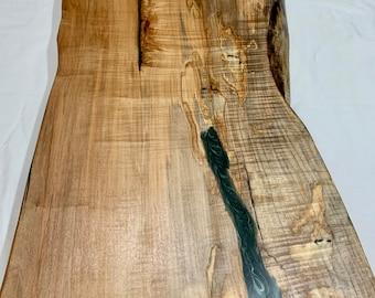 Ambrosia Maple live edge coffee table top