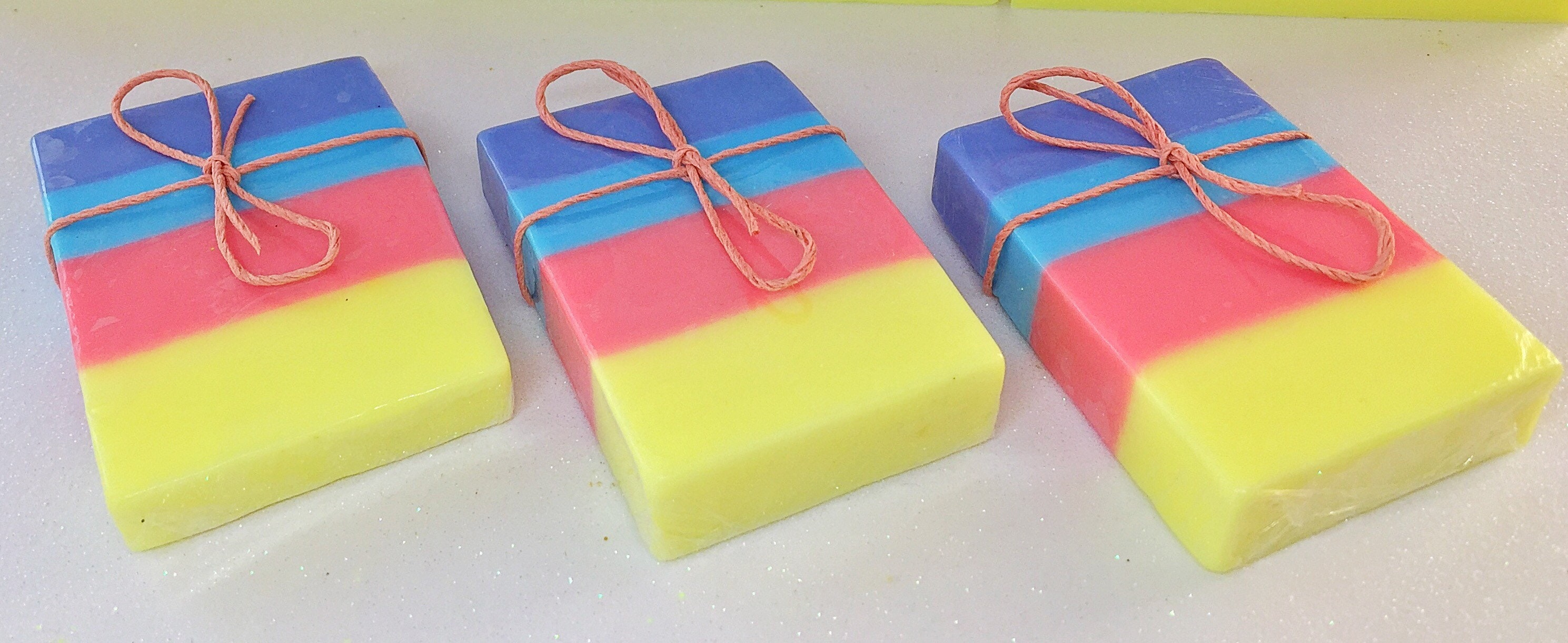 Rainbow Soap Favors Baby Shower Favor Soap Baby Shower Decoration