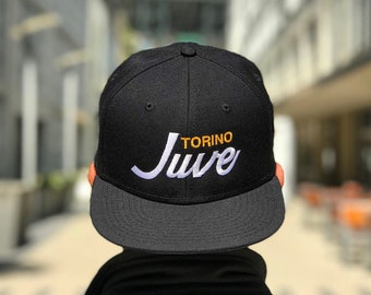Juve Home Soccer Snapback Hat 8de8cfc8b22