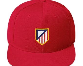 da89b733520 Atlético Minimalist Soccer Snapback Hat