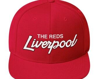 8500d7737f0 Liverpool Soccer Snapback Hat