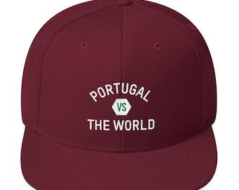 5258e97163b Portugal Versus Soccer Snapback Hat