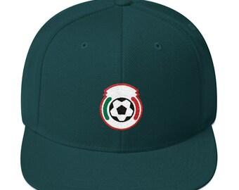 023ebb6aaf6 Mexico Minimalist Soccer Snapback Hat