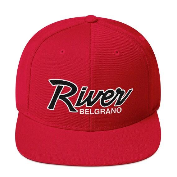 River Soccer Snapback Hat  7db900113e1