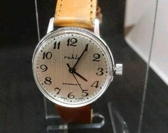 Alte Berufe Armbanduhren Zifferblatt Ruhla Eurochron