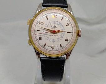 Rare vintage Sibel Chronostop men's wristwatch