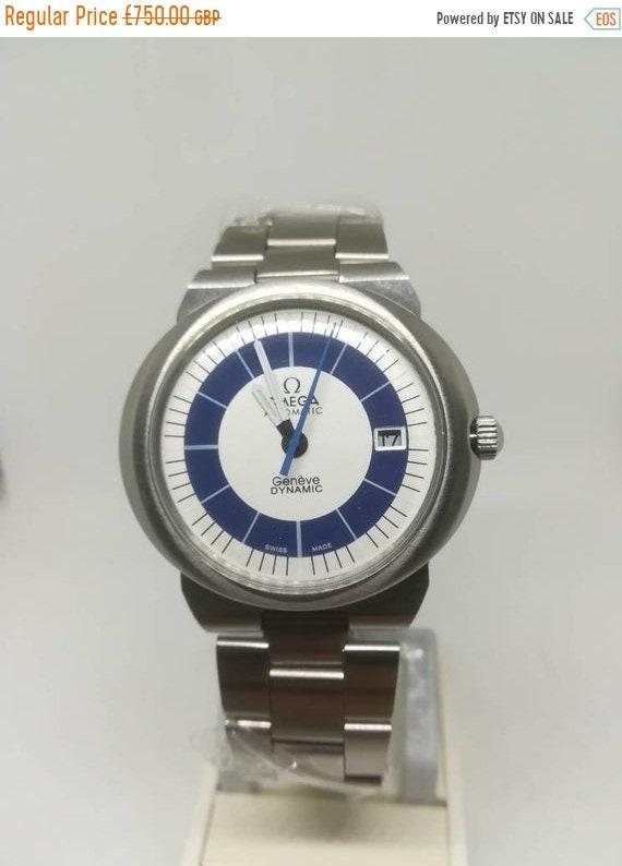 Vintage Omega Dynamic men's wristwatch