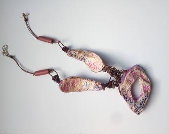Ficodindia Fiber Necklace