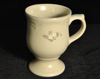 Pfaltzgraff Footed Mug in the Heirloom Pattern