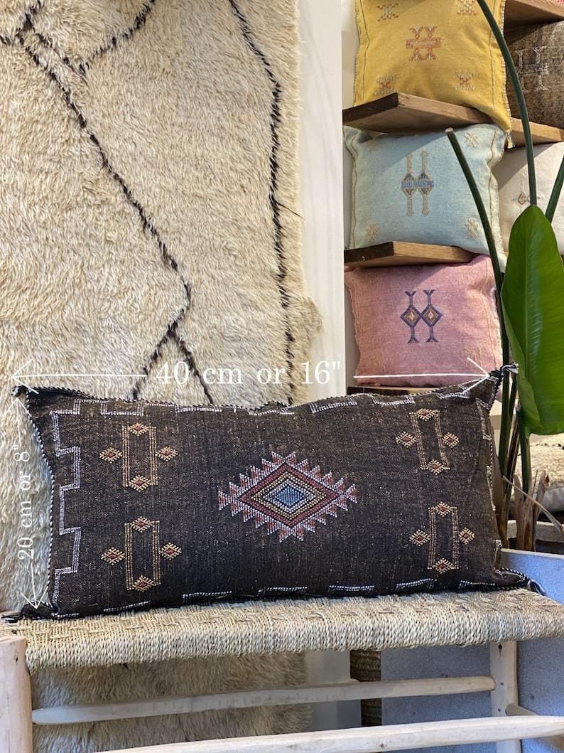 Bohemian Cushion Decorative Cushion Berber Pillow Throw Pillow Cactus Silk Pillow Cover Coussin berber Moroccan Pillow Pillow Case