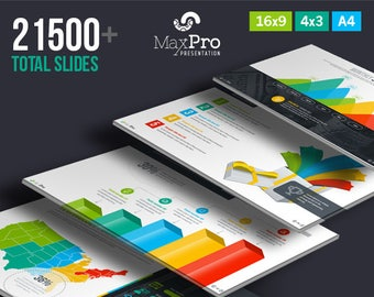 Business Plan Powerpoint Presentation Template Etsy