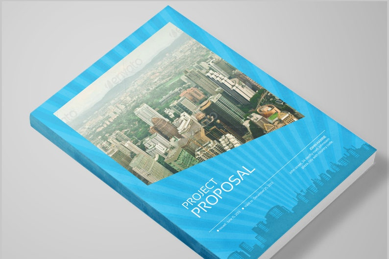Real Estate Proposal Template | Real Estate Proposal Template Project Proposal Indesign Etsy