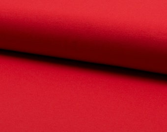fabric red bi-stretch jersey for gymnastics dance skating show sold by half meter