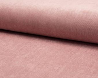 Plain pink corduroy fabric