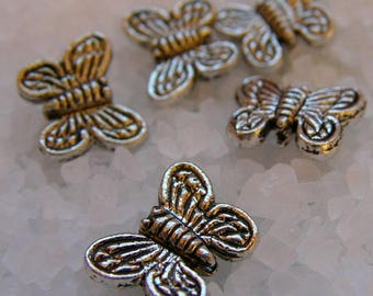 Set of 20 Butterfly beads
