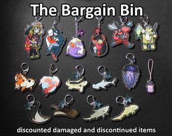 Bargain Bin - Discounted Items