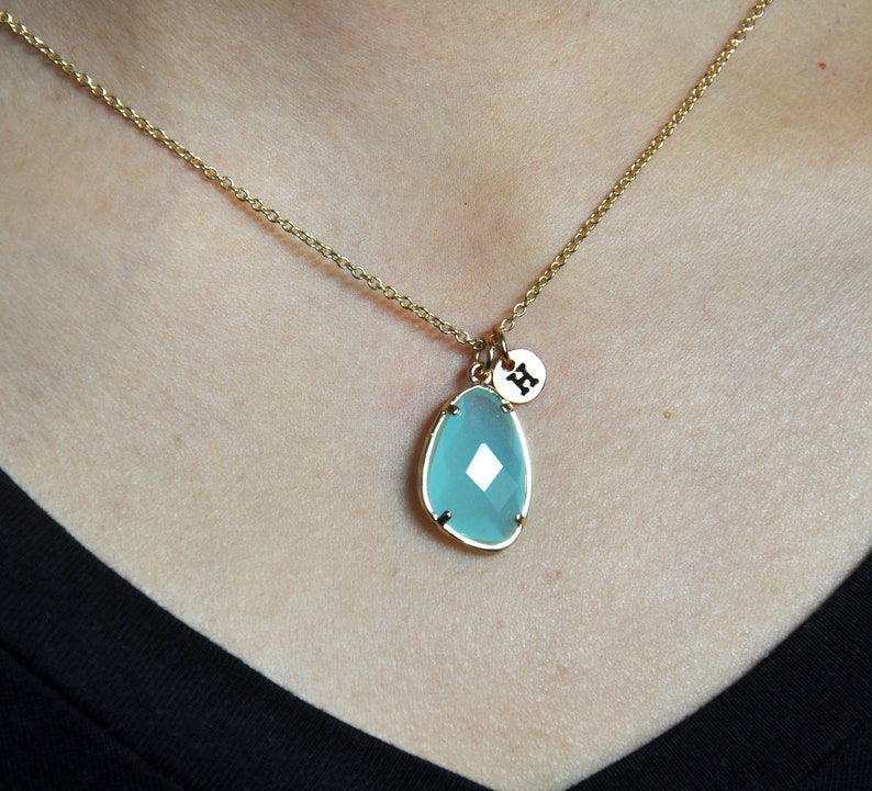 Nathis December Birthstone Necklace Pendant /& Turquoise