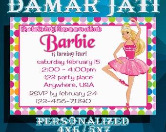 Barbie InvitationsBarbie PartyBarbie BirthdayBarbie PrintableBarbie InvitesBarbie Birthday Party
