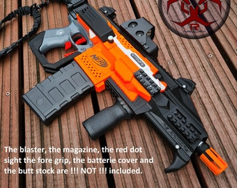 CZ Scorpion Style Kit for Nerf Stryfe  - 3D printed Cosplay Larp (only 3D printed parts)