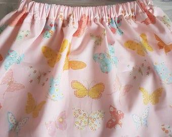 Pink butterfly skirt