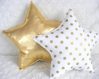 Star Pillow Etsy
