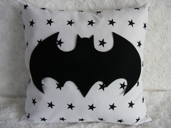 Superhero Batman pillow Batman Bedroom Decor Baby Boy Pillow batman  Birthday Pillows for Nursery