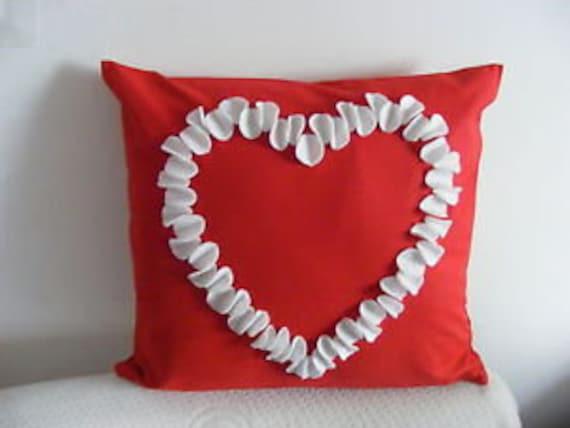 Valentine love heart Pillow Cushion