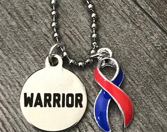 CHD Warrior Necklace - CHD AWARENESS