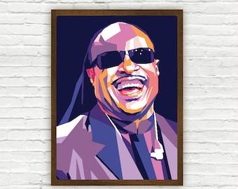 Stevie Wonder Limited Artwork