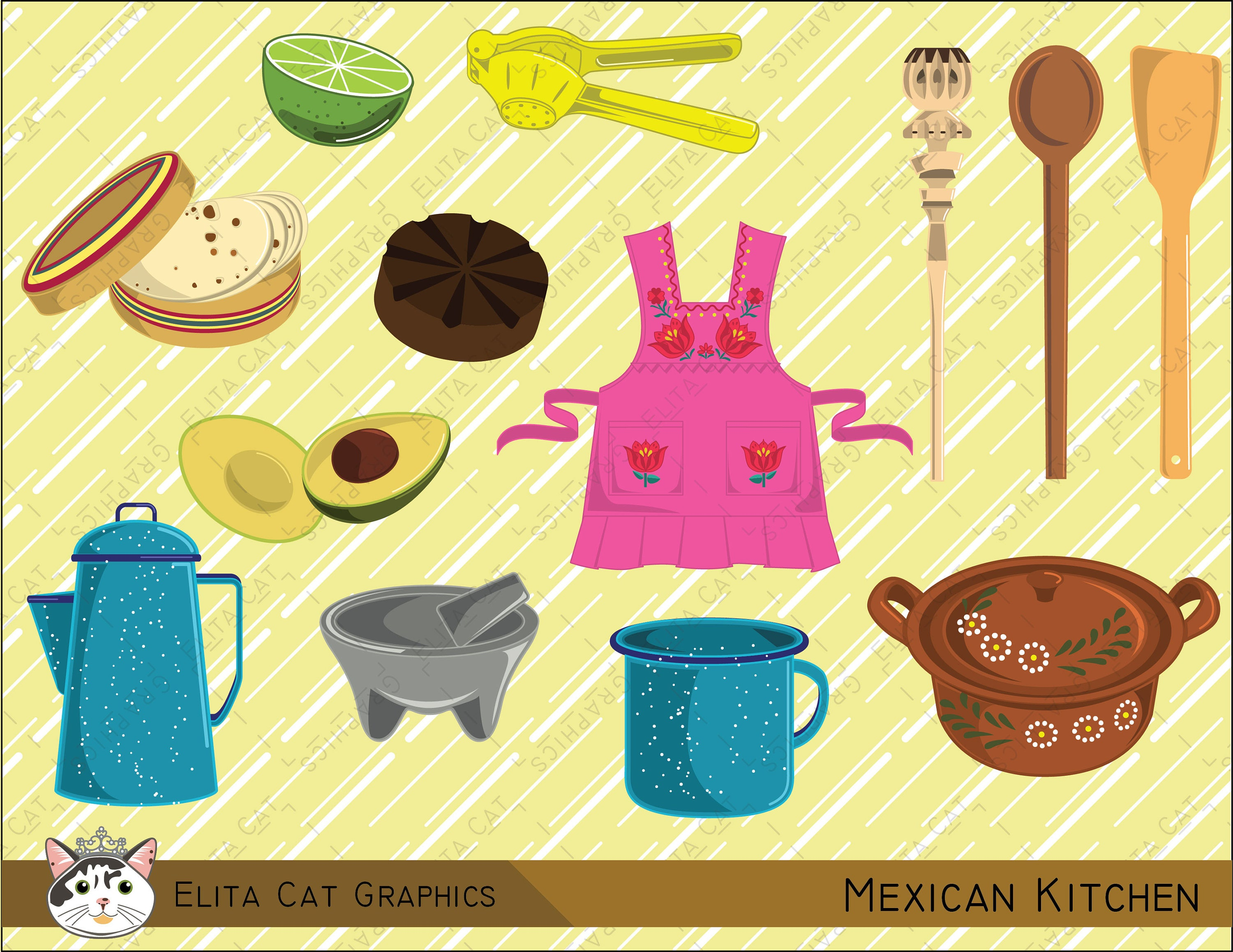 Mexican Kitchen | Etsy