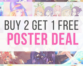 Buy 2 Get 1 Free Poster Bundle
